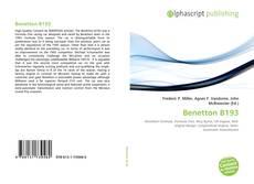 Capa do livro de Benetton B193