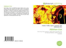 Bookcover of Ableton Live