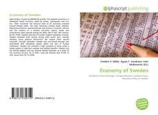 Buchcover von Economy of Sweden