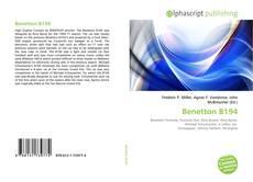 Capa do livro de Benetton B194