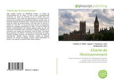 Charte de l'Environnement kitap kapağı