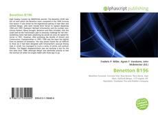 Capa do livro de Benetton B196