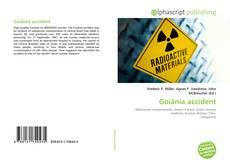 Bookcover of Goiânia accident