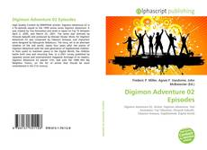 Capa do livro de Digimon Adventure 02 Episodes