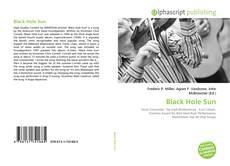 Capa do livro de Black Hole Sun