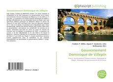 Обложка Gouvernement Dominique de Villepin