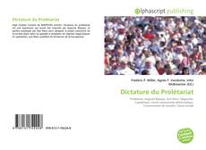 Bookcover of Dictature du Prolétariat