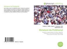 Copertina di Dictature du Prolétariat