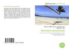 Capa do livro de Bronisław Komorowski