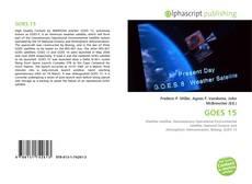 Capa do livro de GOES 15