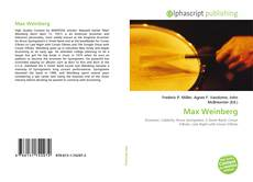 Bookcover of Max Weinberg