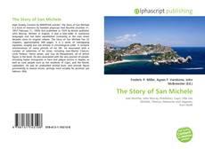Portada del libro de The Story of San Michele
