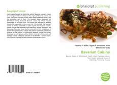 Borítókép a  Bavarian Cuisine - hoz