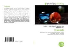 Crokinole kitap kapağı