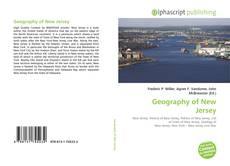 Geography of New Jersey kitap kapağı