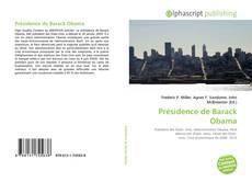 Présidence de Barack Obama kitap kapağı