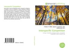 Bookcover of Interspecific Competition