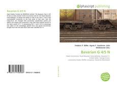 Bavarian G 4/5 N kitap kapağı