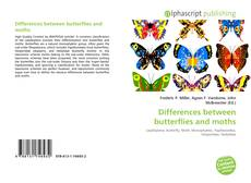Buchcover von Differences between butterflies and moths