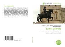 Copertina di Earl of Lichfield