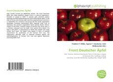 Capa do livro de Front Deutscher Äpfel
