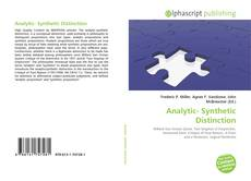 Bookcover of Analytic- Synthetic Distinction