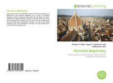Bookcover of Florence Baptistery