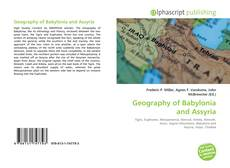 Portada del libro de Geography of Babylonia and Assyria
