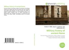 Bookcover of Military history of ancient Rome