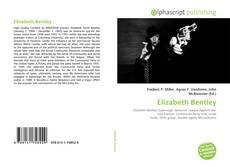 Buchcover von Elizabeth Bentley