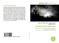 Buchcover von Frankenstein's Monster