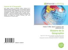 Bookcover of Histoire de la Géographie