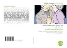 Capa do livro de Colossus (Comics)