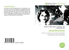 Bookcover of .Hack//Mutation