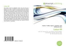 Lotus 49的封面