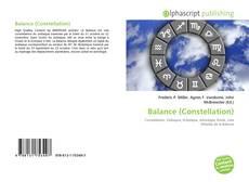 Couverture de Balance (Constellation)
