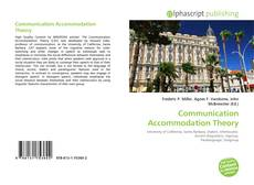 Communication Accommodation Theory的封面