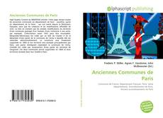 Buchcover von Anciennes Communes de Paris