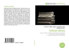 Vatican Library kitap kapağı