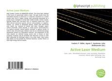 Bookcover of Active Laser Medium