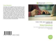 Bookcover of Gray Literature