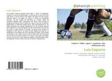 Portada del libro de Luis Capurro