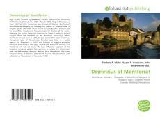 Portada del libro de Demetrius of Montferrat