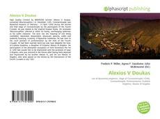Bookcover of Alexios V Doukas