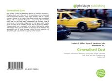 Bookcover of Generalised Cost