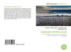 Bookcover of Hydrogen infrastructure