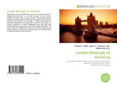 Bookcover of London Borough of Havering