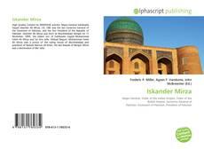 Iskander Mirza kitap kapağı