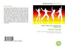 Portada del libro de Dance Squad