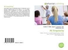 Bookcover of Ak Singularity